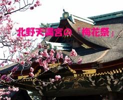 北野天満宮『梅花祭』
